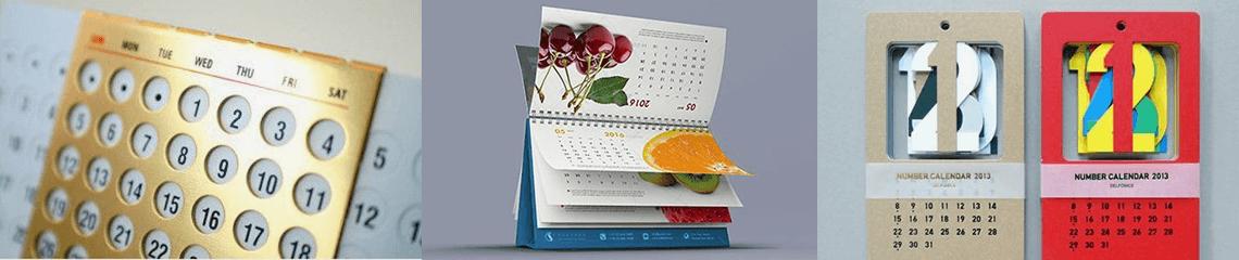 Печать календарей на 2019 год